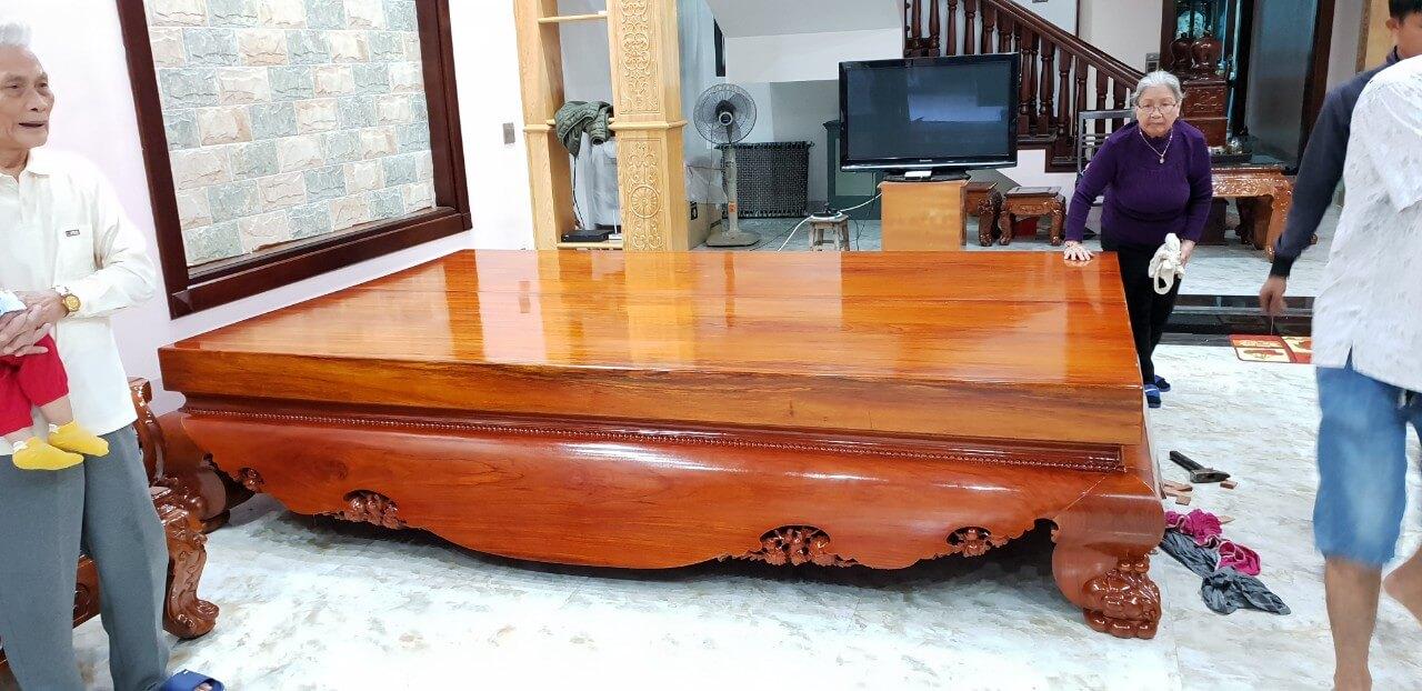 các loại gỗ sử dụng trong nội thất