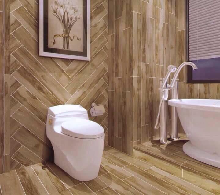 mẫu ốp chân tường bằng gỗ đẹp