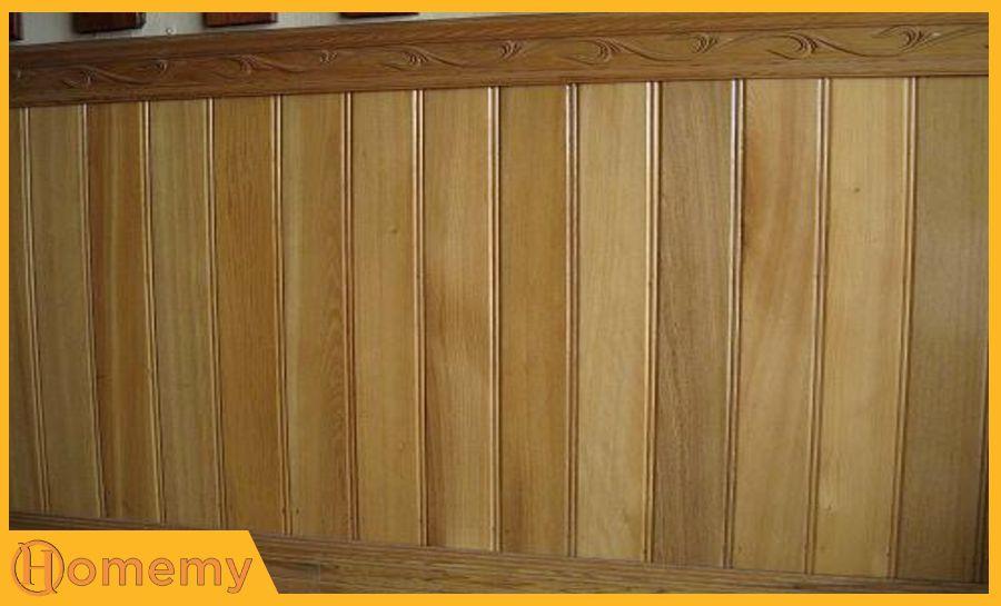 giá gỗ pơ mu ốp tường