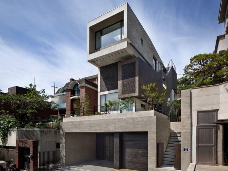 những ngôi nhà đẹp nhất Hàn Quốc
