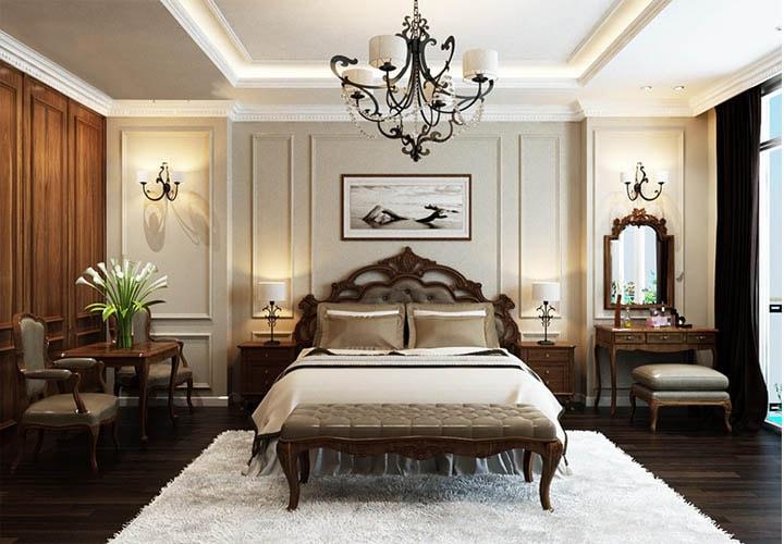 phong cách cổ điển trong nội thất