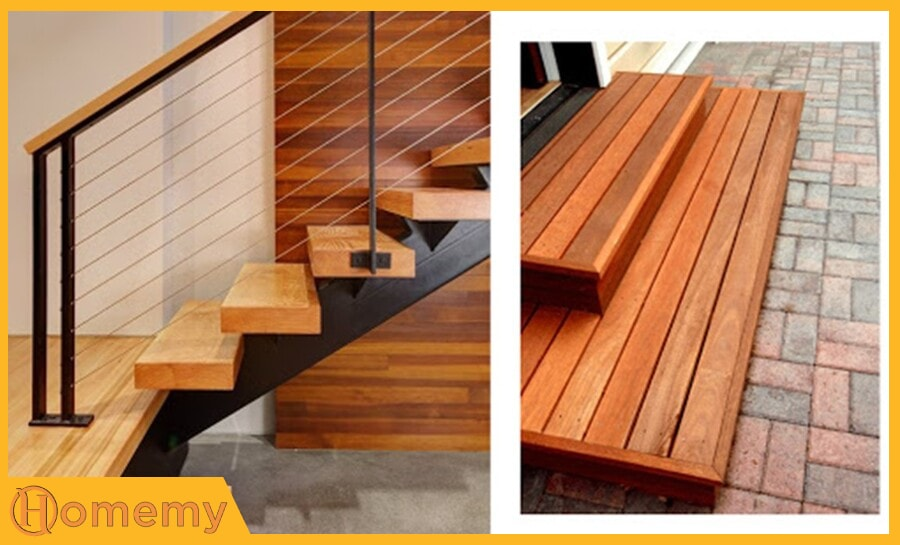 Sàn gỗ cầu thang chất lượng