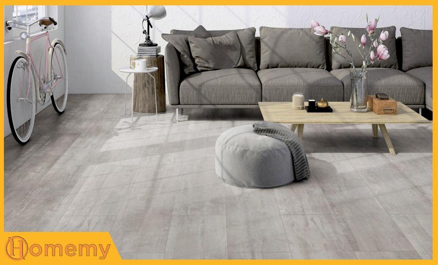 sàn gỗ màu sáng
