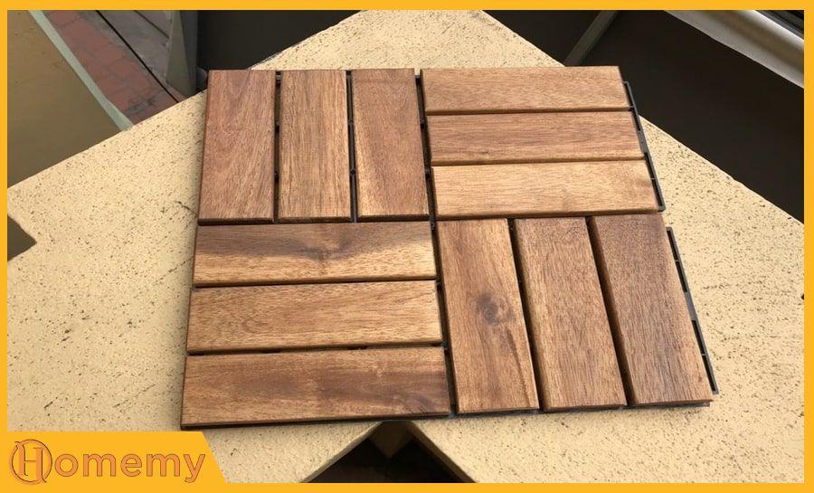 sàn gỗ tự ghép giá rẻ