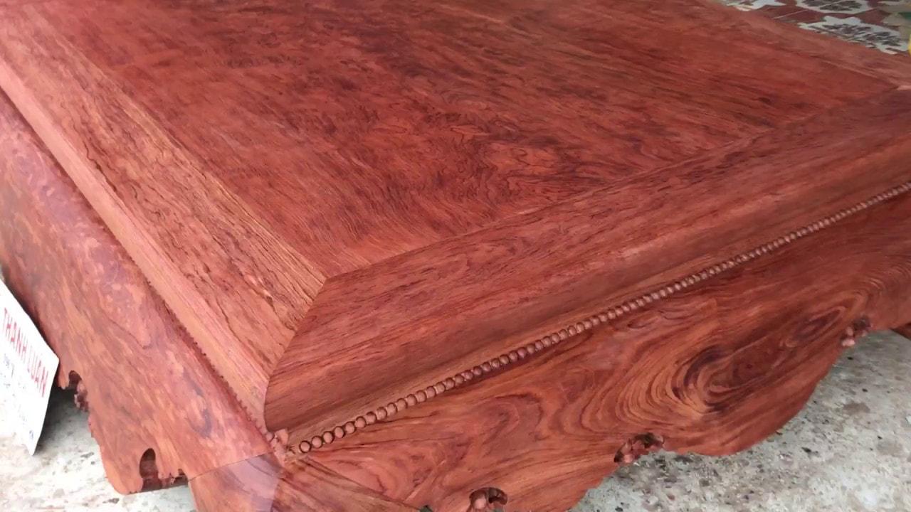 so sánh gỗ trắc và gỗ cẩm lai chính xác
