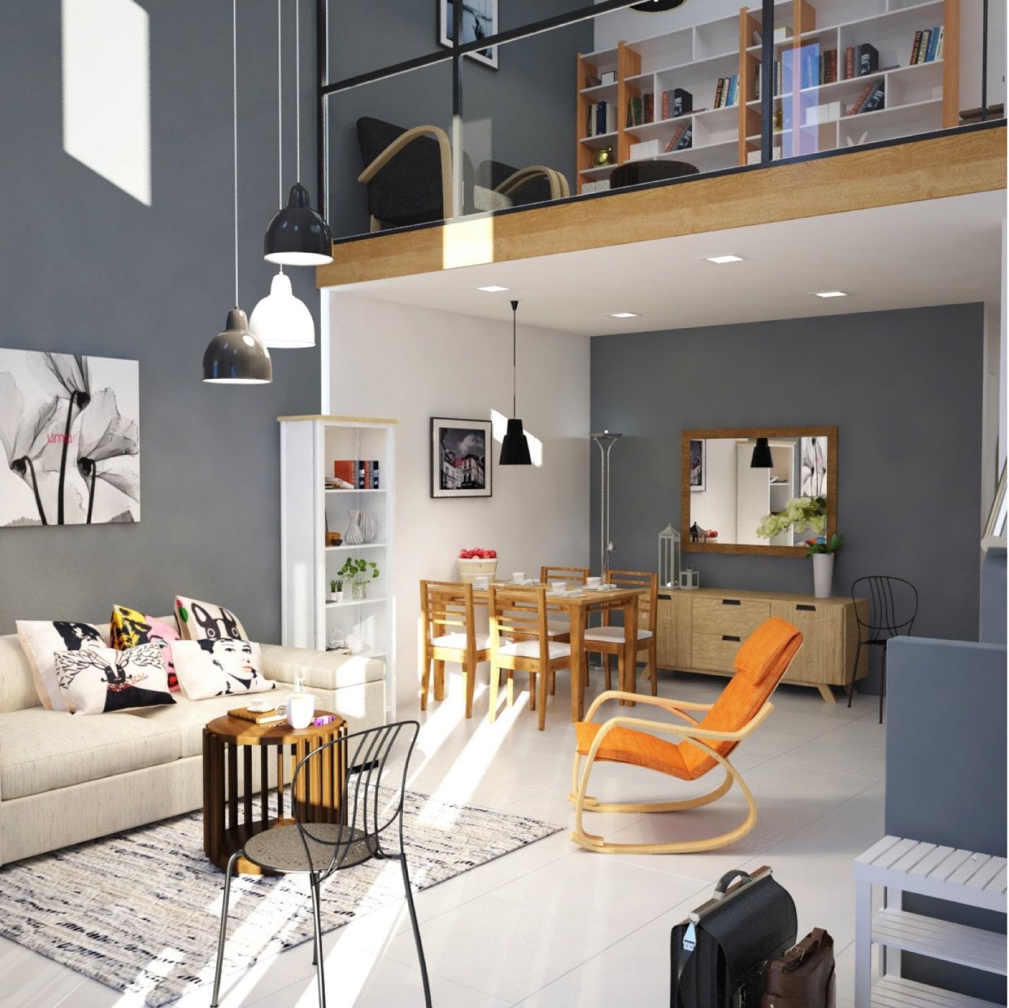 thiết kế nhà nhỏ đẹp đơn giản