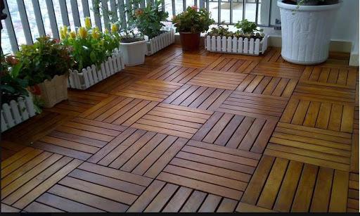các kiểu lót sàn gỗ