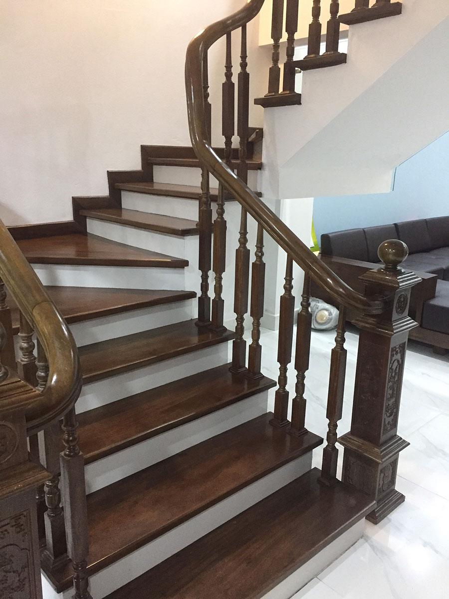 hướng dẫn làm cầu thang gỗ
