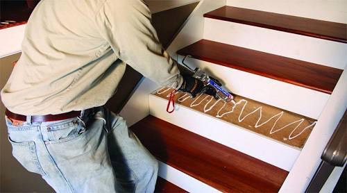 làm cầu thang gỗ đẹp