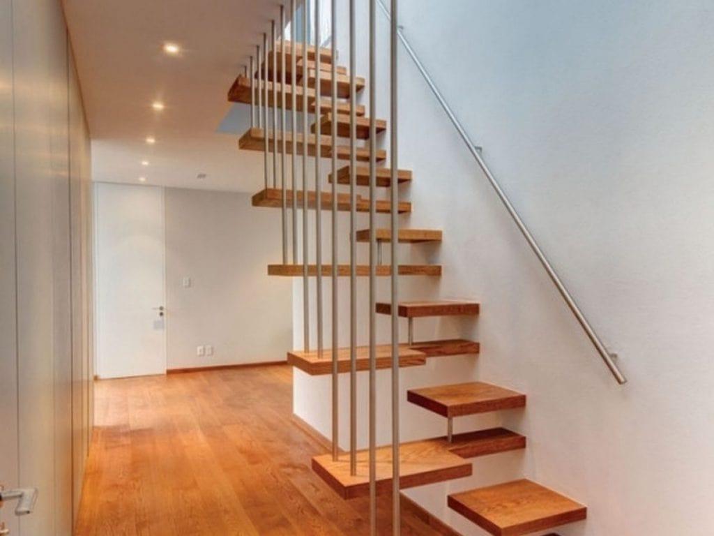 tự làm cầu thang gỗ