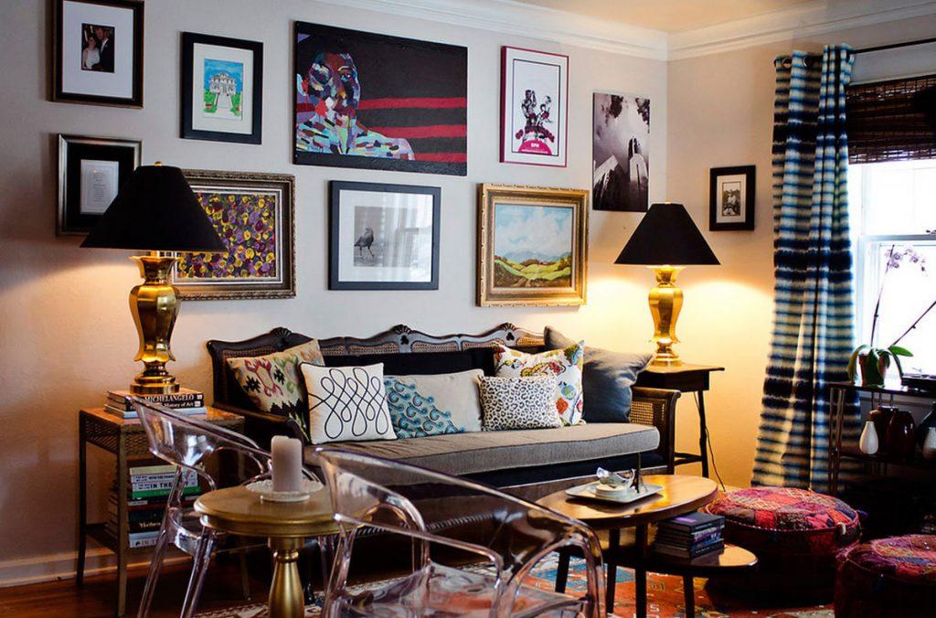 phong cách Retro trong thiết kế nội thất