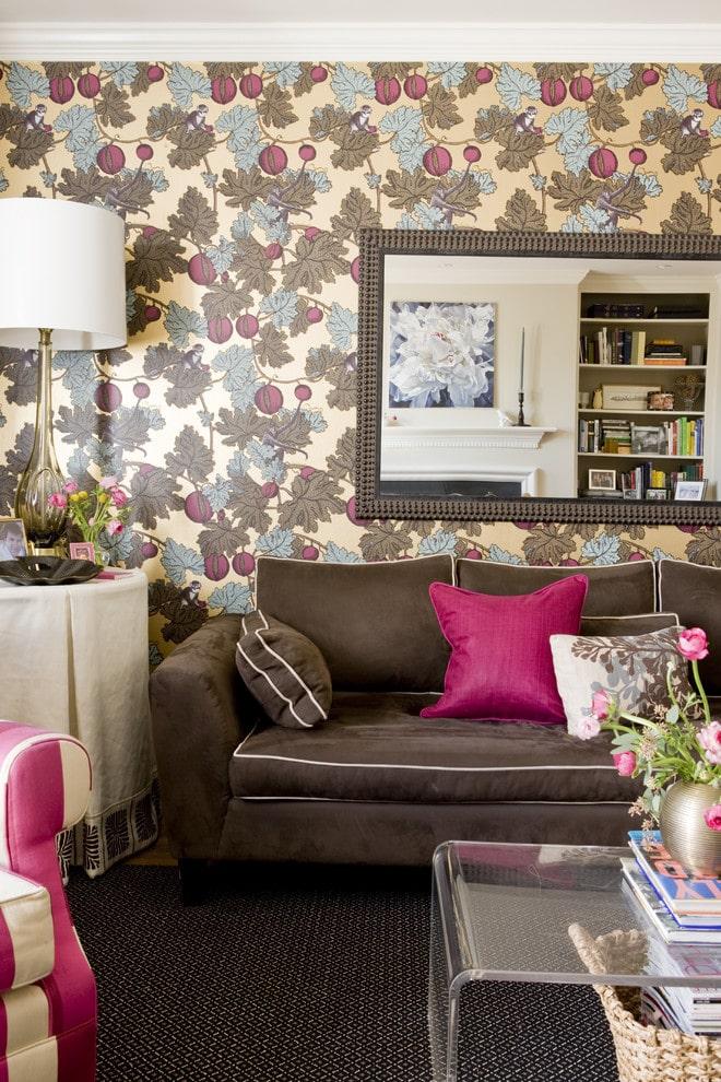 Thiết kế tường nhà với phong cách Retro