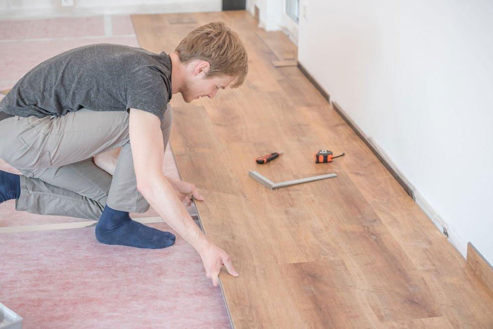 sửa chữa Sàn gỗ bị phồng