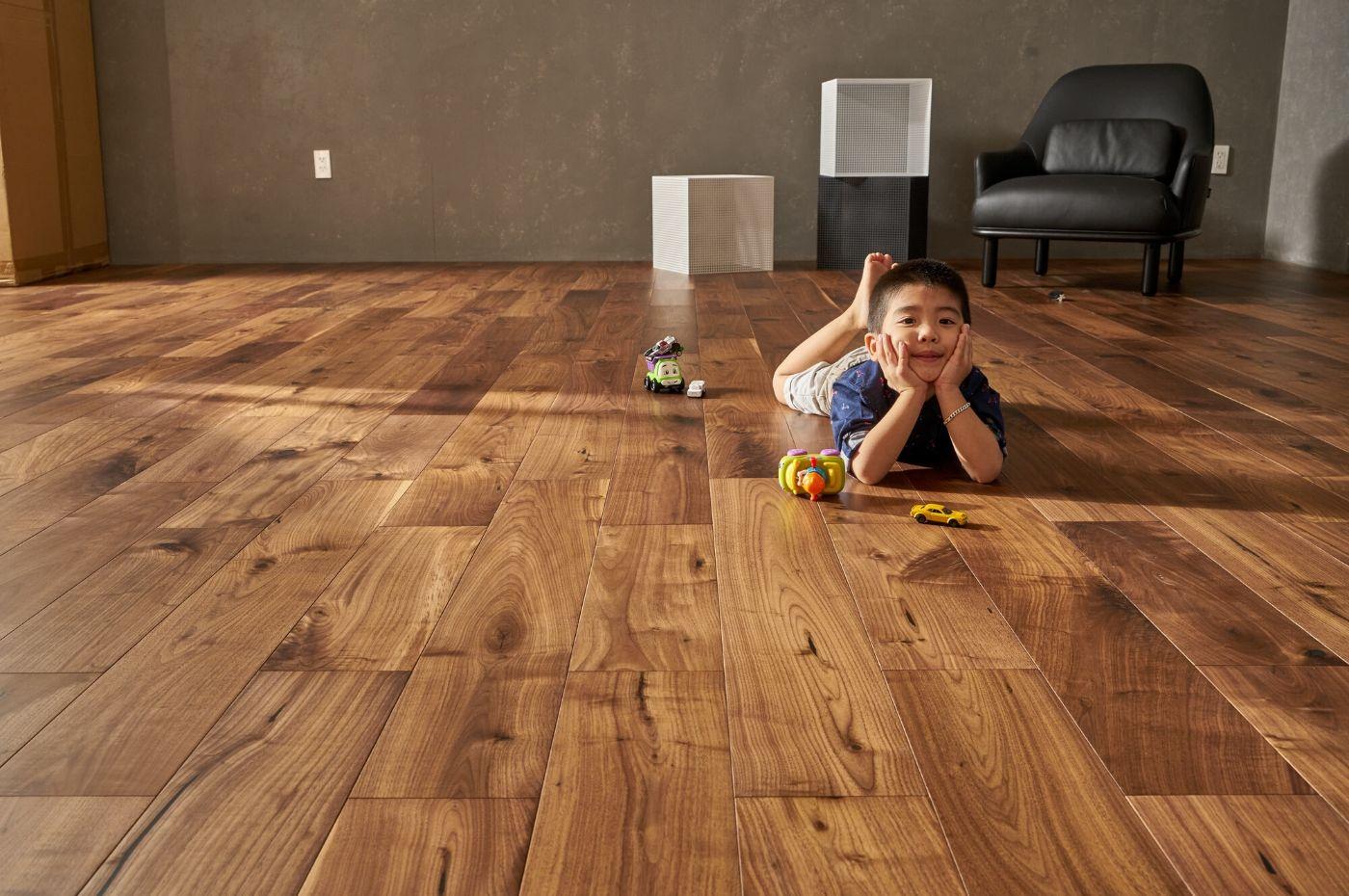 Sàn gỗ chung cư phù hợp với không gian nội thất