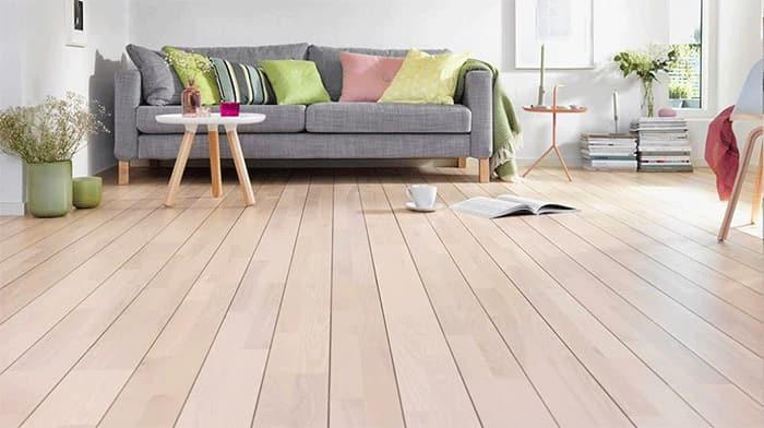 ván gỗ phòng khách