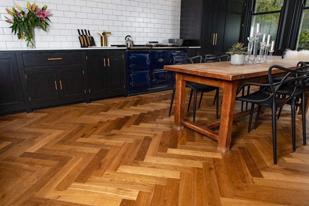 sàn gỗ công nghiệp ghép xương cá