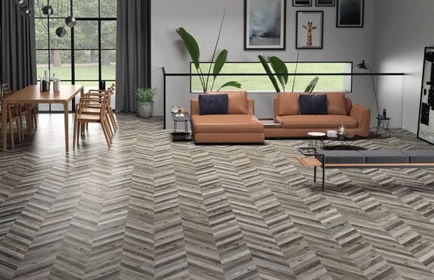 sàn gỗ xương cá công nghiệp