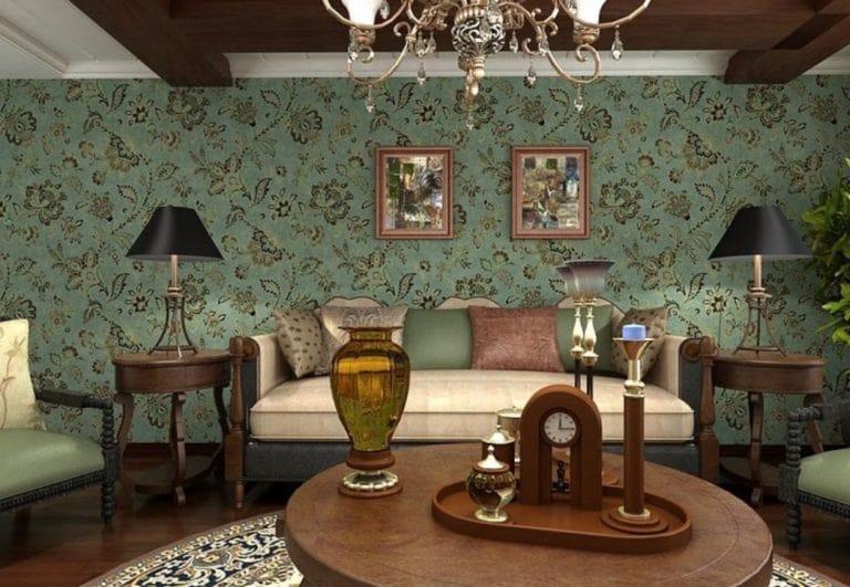 trang trí nhà theo phong cách vintage