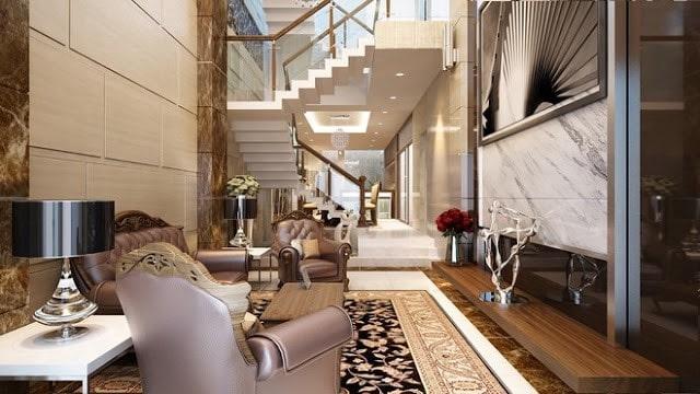 trang trí nội thất phòng khách đẹp