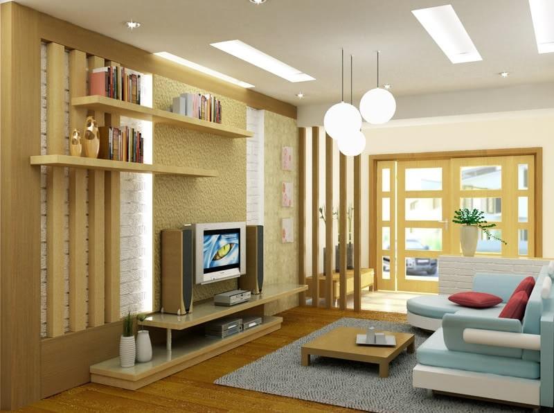 các trang trí nội thất trong nhà