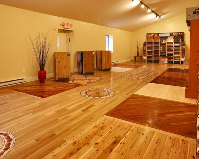 Sàn gỗ thông ghép