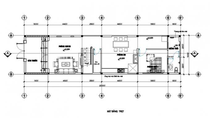 Mẫu nhà 2 tầng kiểu châu Âu