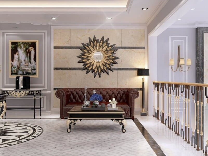 thiết kế nội thất biệt thự Long Biên