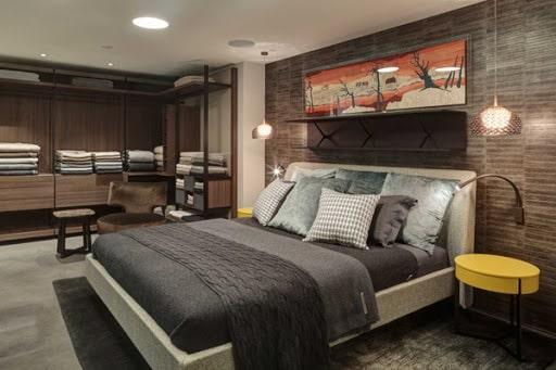Mẫu thiết kế nội thất phòng ngủ biệt thự đẹp 2021