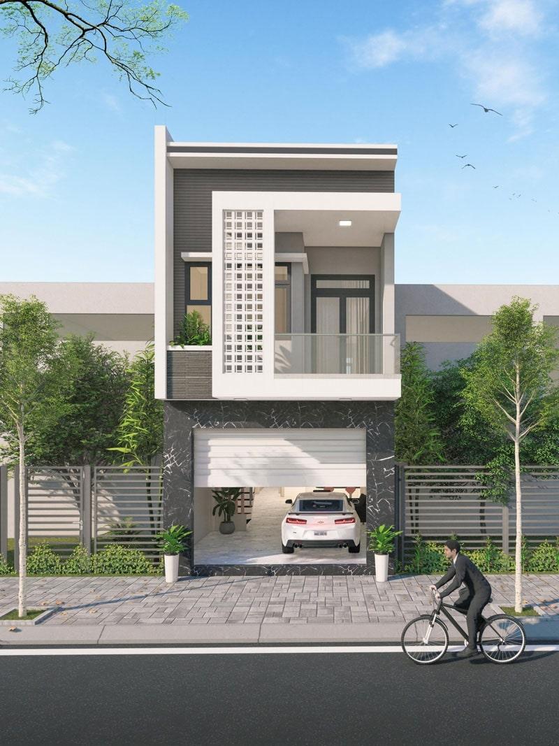 Chi phí xây nhà 2 tầng 60m2 phụ thuộc vào nhiều yếu tố