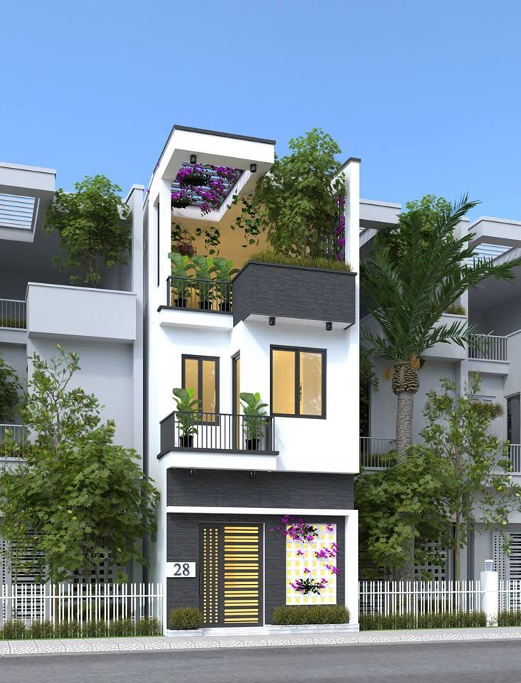 Thiết kế nhà 3 tầng không gian mở cho những mẫu đất có diện tích nhỏ