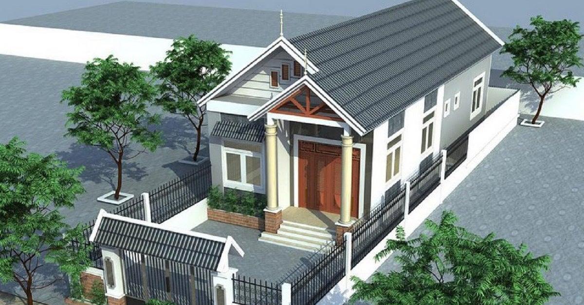 Xây nhà cấp 4 đem lại nhiều lợi ích hơn so với việc xây một ngôi nhà nhiều tầng