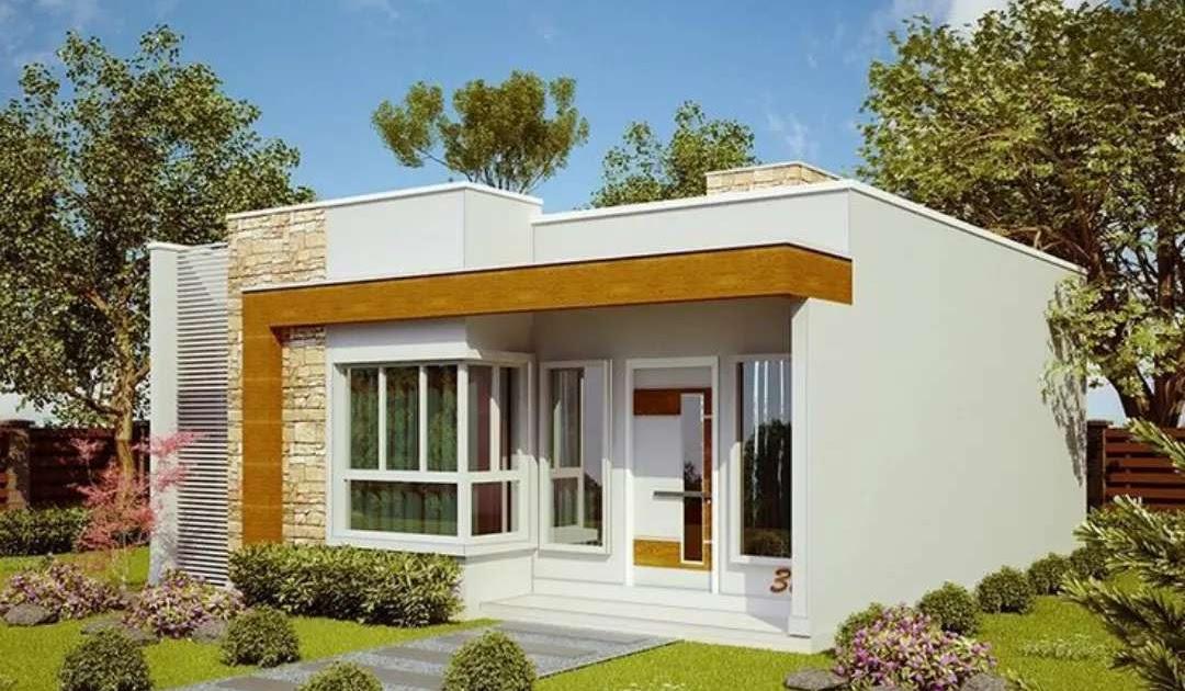 Ngôi nhà cấp 4 100m2 với cảnh quan quanh nhà đầy cây xanh