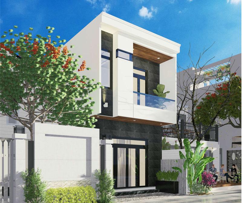 Mẫu nhà 2 tầng đơn giản thiết kế hiện đại với chi phí tiết kiệm