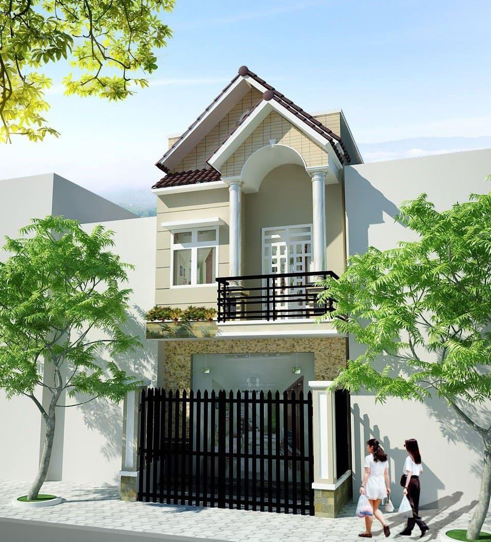 Xây dựng mẫu nhà 2 tầng với chi phí 600 triệu cần có sự đầu tư tìm hiểu