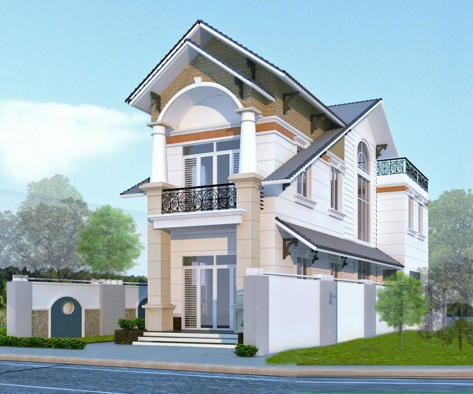 Tính toán chi phí cẩn thận sẽ giúp bạn tính toán chi phí xây nhà 2 tầng tuyệt đẹp