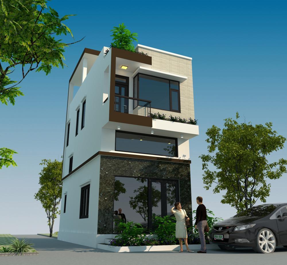 Mẫu nhà 2 tầng với chi phí 600 triệu thiết kế hiện đại và sang trọng