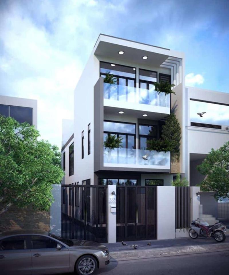 Nhà 3 tầng là sự lựa chọn hợp lý ở không gian thành phố chật hẹp