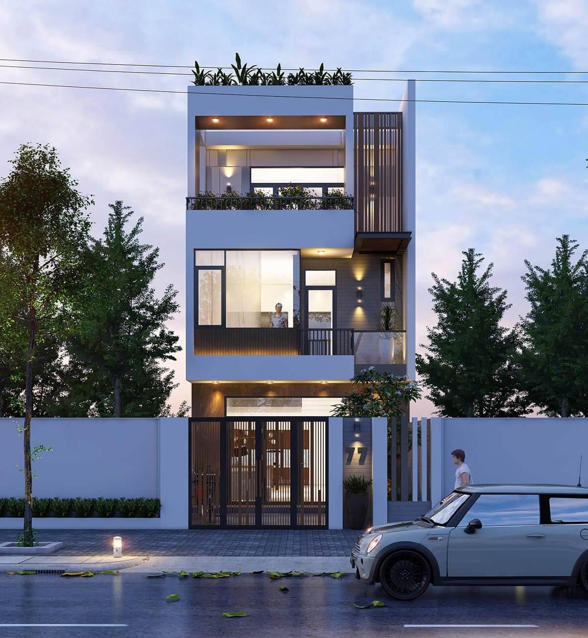 Xây nhà 3 tầng với không gian mở giúp cho căn nhà bạn sẽ trở nên bát mắt hơn