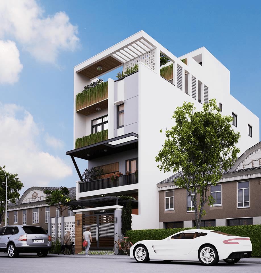 xây nhà 3 tầng giá 600 triệu