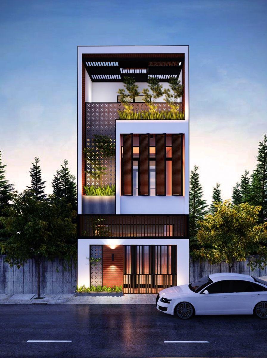 Những mẫu nhà 3 tầng với thiết kế hiện đại là xu hướng xây dựng nhà hiện nay